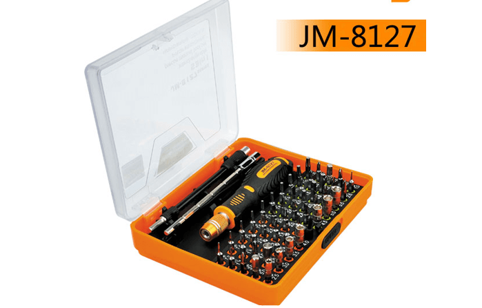 JM-8127 53PCS        Professional Screwdriver Toolkit